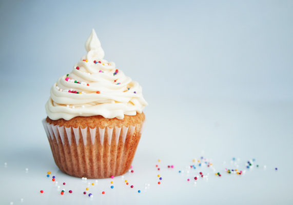 Champagne flavored cupcakes are the perfect addition to any New Year's Eve party. Considering that alcohol infused desserts are quickly becoming trendy flavors, champagne cupcakes offer an exciting new flavor for customers to try out in 2013.