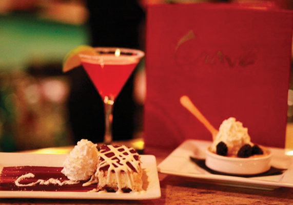 Dessert bars are quickly becoming a hot new trend. By combining two popular indulgences – desserts and drinks – they entice a broad spectrum of customers. While some dessert bars go to the extreme in both categories, others take a more subtle approach to the theme. Take a peek at a few of the dessert bars around the country.