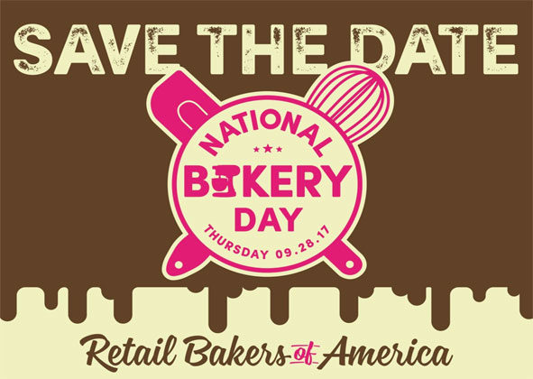 National Bakery Day is coming on Thursday, Sept. 28, 2017 -- the first-ever official National Bakery Day in the United States.
