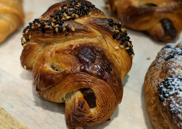 "WheatStalk 2018, held Feb. 27 through March 1 at Johnson & Wales University in Providence, Rhode Island, featured leading bakers from around the globe and delivered an outstanding program that included groundbreaking trends such as ""elevated viennoiserie,"" as demonstrated by WheatStalk instructor Tadashi Naruse, who coached Japan's victory in the 2012 Coupe du Monde de la Boulangerie (Bakery World Cup). This members-only event for members of the Bread Bakers Guild of America assembled the best and brightest minds of artisan baking in one place for three days of lectures, demos, hands-on classes, and baking conversation. Mentors, masters, and members are sharing their knowledge, creating the opportunity for Bread Bakers Guild members to strengthen their community of artisans who value education and the pursuit of quality."