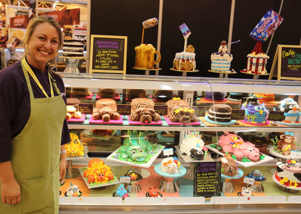 Wow cakes don't have to be difficult to create, says Stephanie Dillon, an award-winning cake decorator at Hy-Vee bakeries.