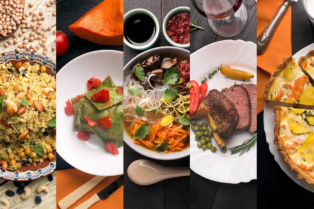 International cuisines