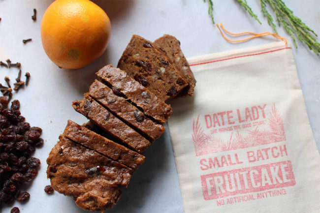 Date Lady fruitcake