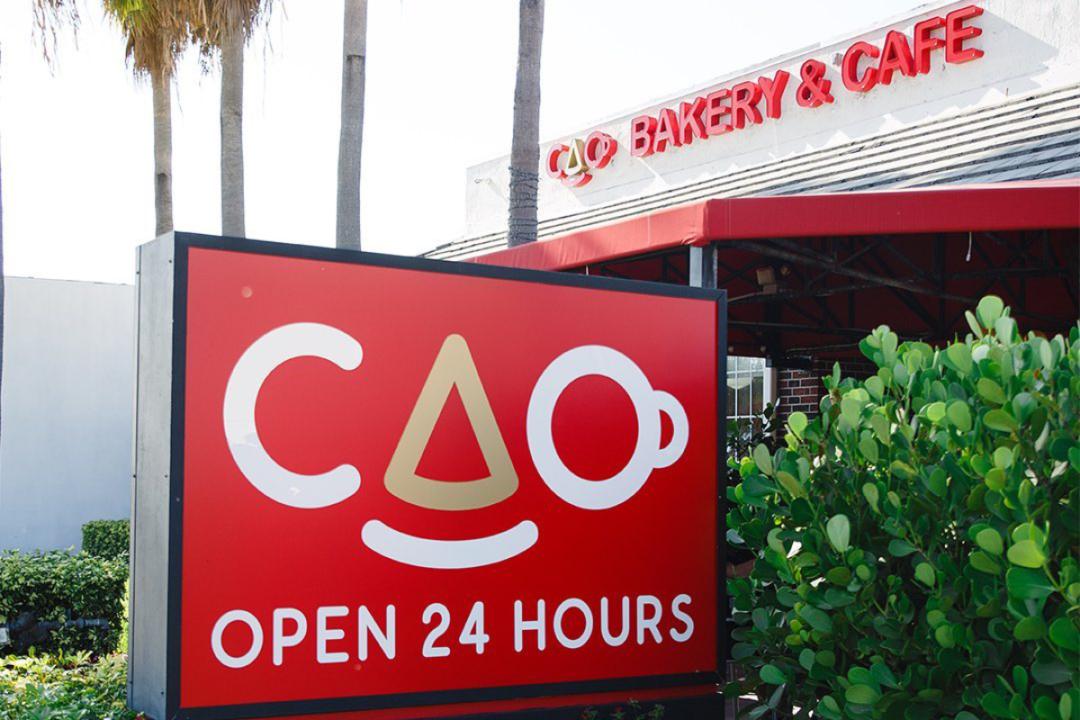 CAO Bakery & Cafe exterior