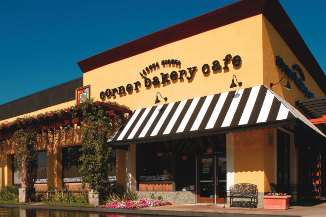 Corner Bakery Cafe restaurant