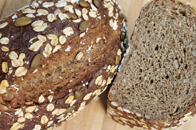 Baking Innovation's Hemp N' Seeds French bread mix for home bakers.