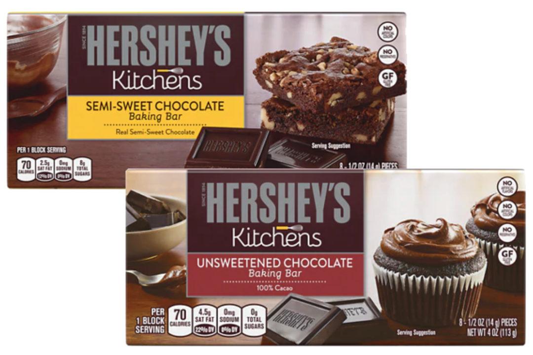 Hershey's chocolate baking bars