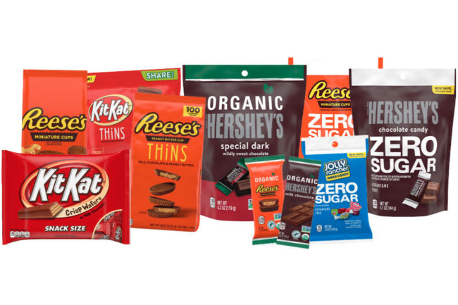 Hershey's better-for-you confectionery portfolio