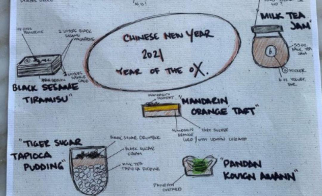b patisserie Chinese New Year