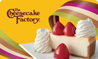 Cheesecake factory giftcard