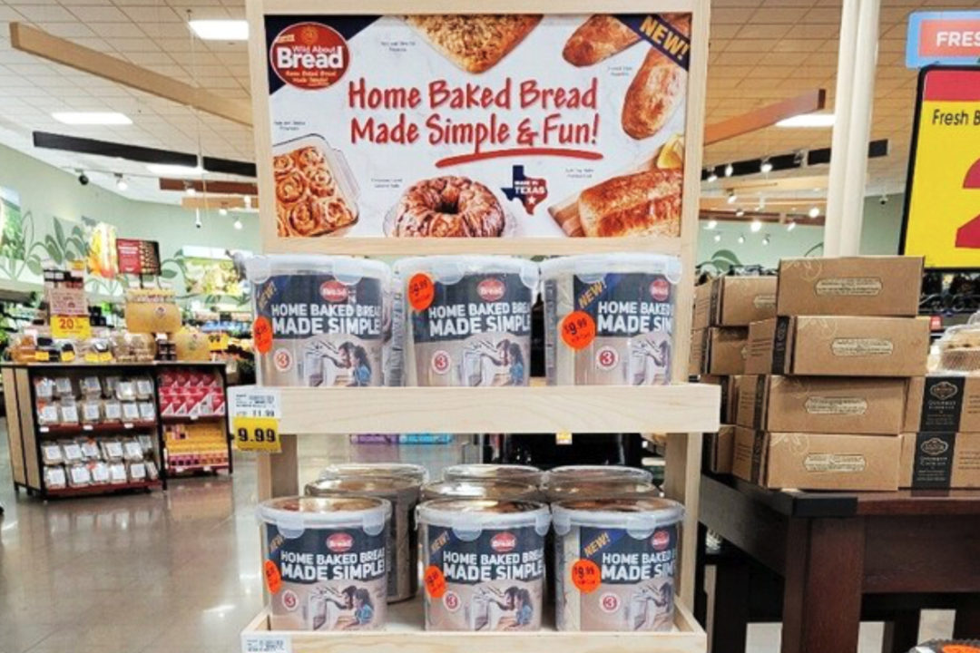 Wild About Bread display