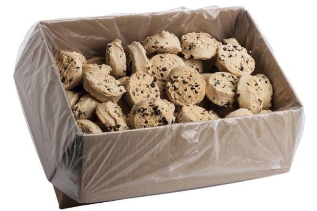 Otis Spunkmeyer frozen cookie dough