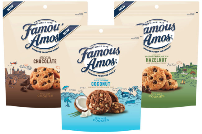 Famous Amos Wonders from the World cookies