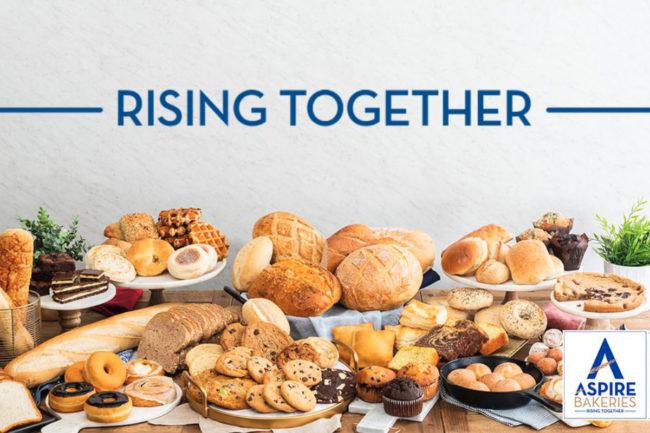 Aspire Bakeries Rising Together tagline
