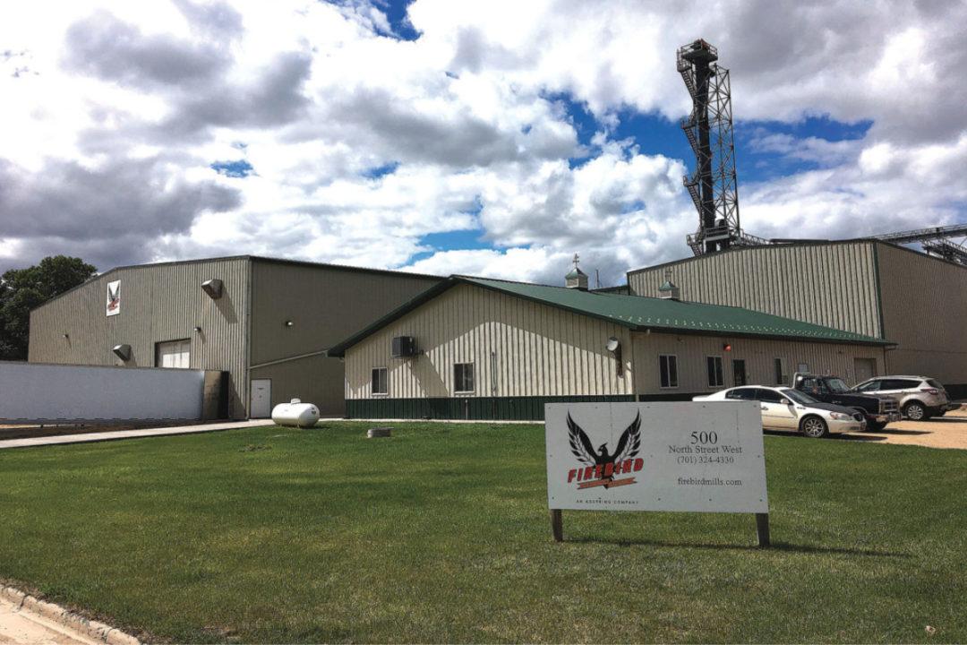 Firebird Artisan Mills facility in Harvey, ND