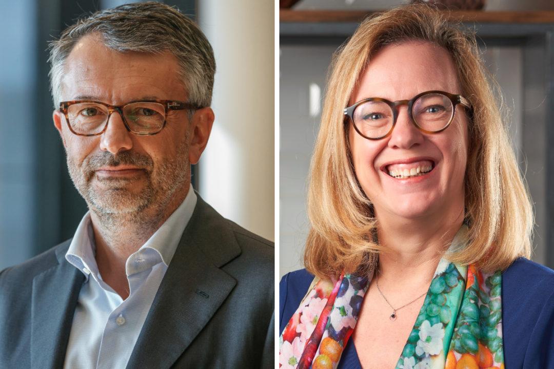 Massimo Selmo and Masha Vis-Mertens, Barry Callebaut