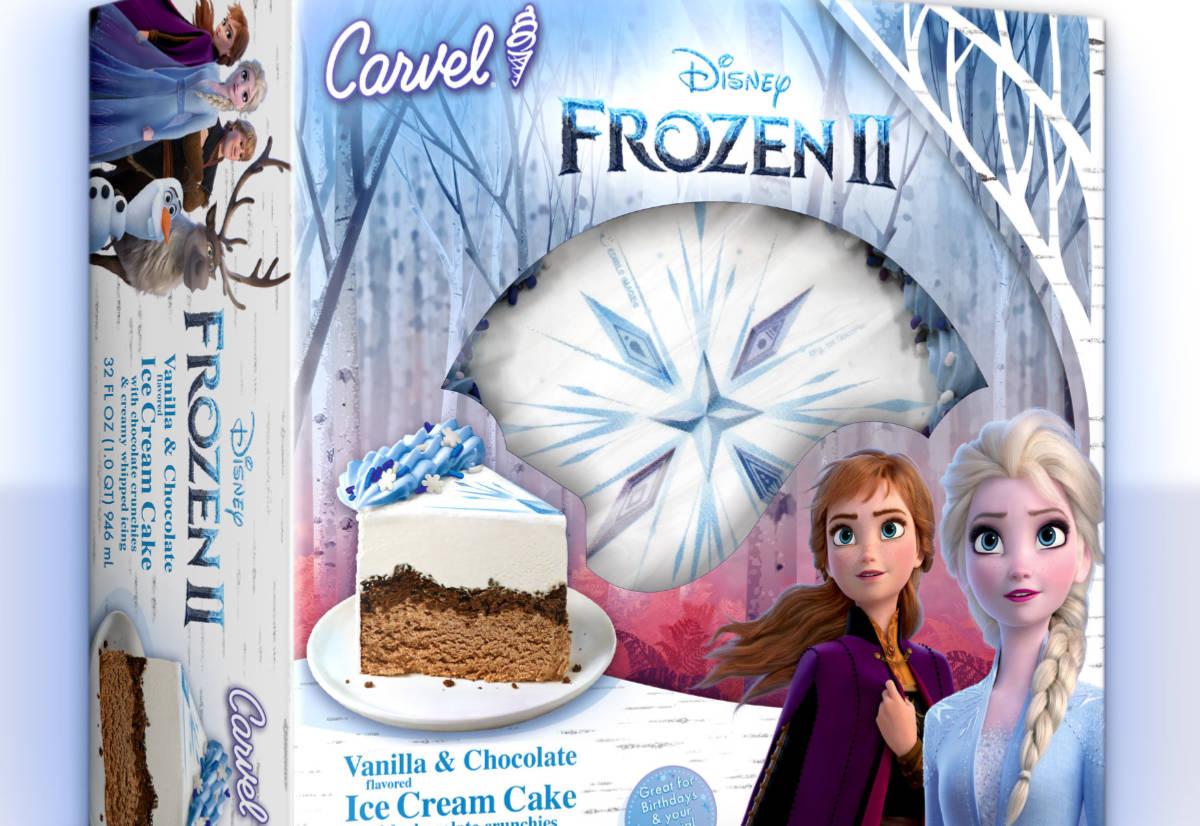 Carvel Frozen 2 Ice Cream Cake