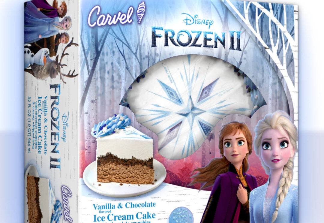 Carvel Frozen 2 Ice Cream Cake