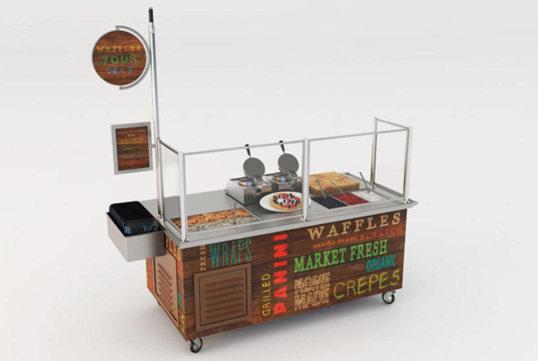 LTI Waffle stand