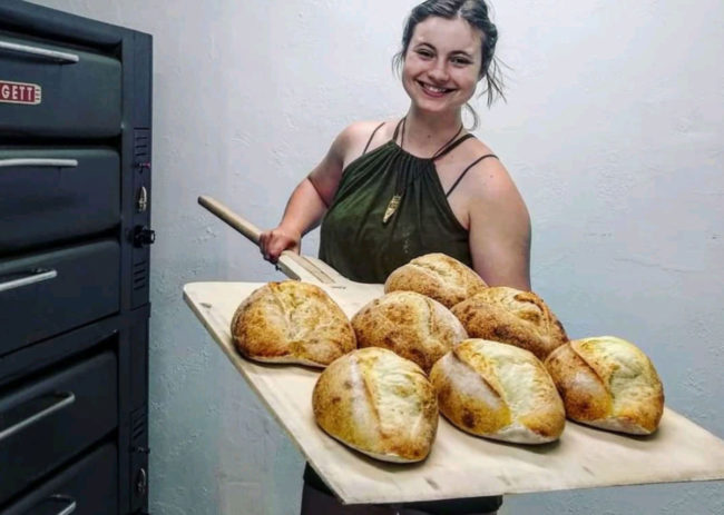 Leavened Bakery owner Meriah Timm