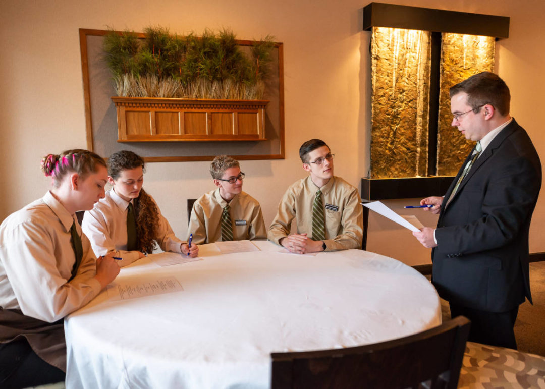 Penn College restaurant management