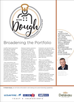 Lesaffre broadening the portfolio aug18