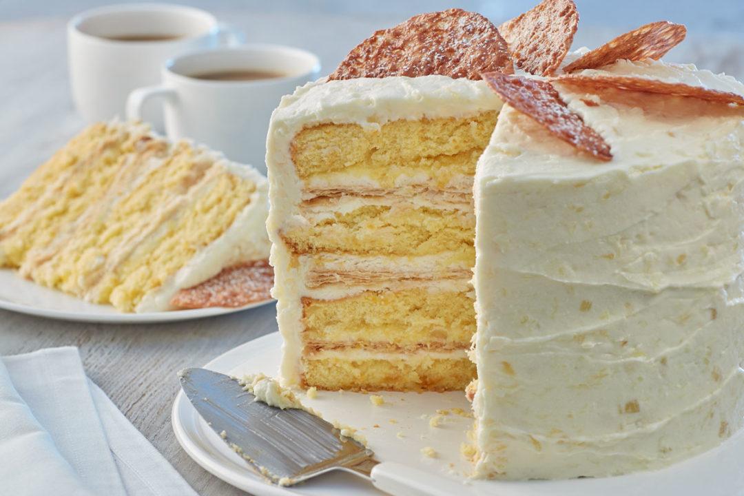 Sunshine State Orange Crunch Cake