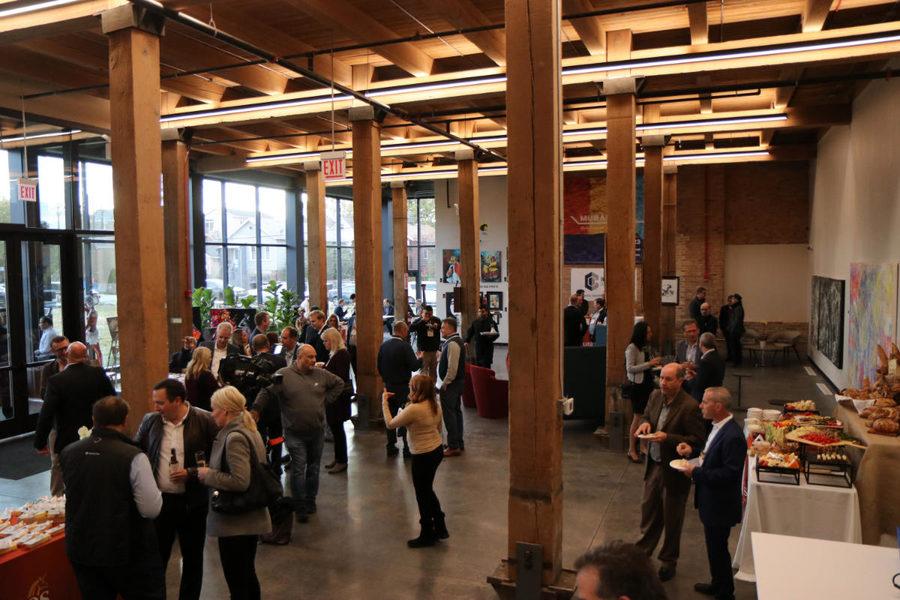 Puratos Chicago Innovation Center reception