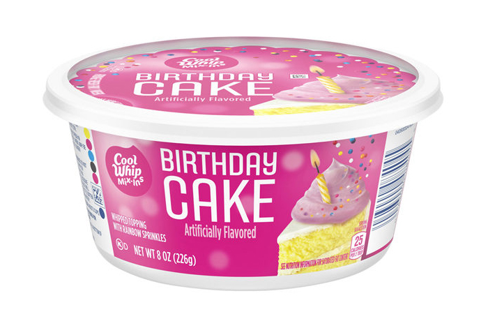 Birthday Cake Cool Whip Is Here To Make Desserts More Fun