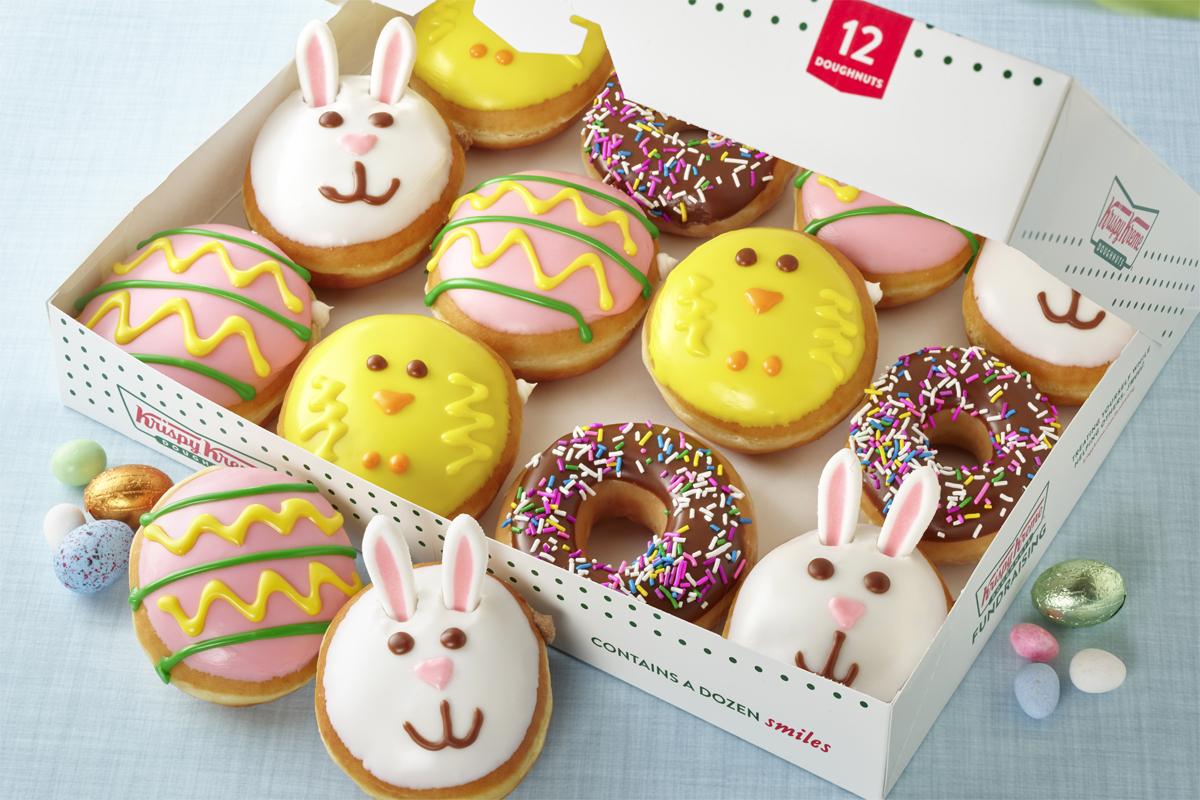 Krispy Kreme Gets Festive For Easter With Limited Time