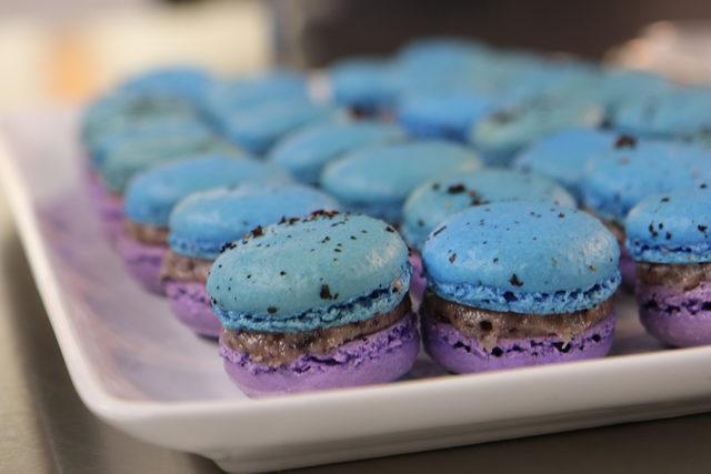 Bluepurplemacarons