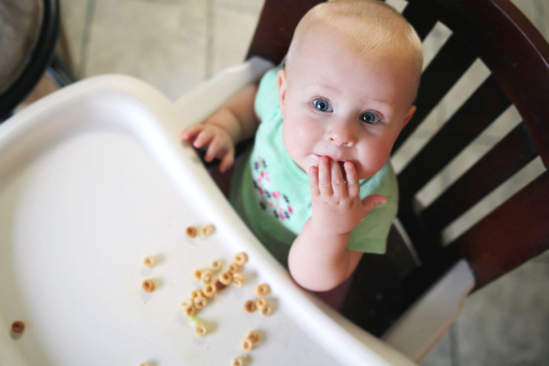 BabyEatingCereal