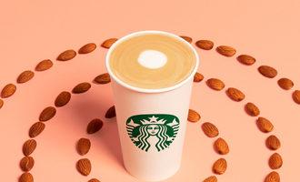 Starbucks_almondmilk