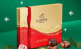 Godiva holidaysparkle