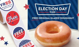 Krispykreme electionday