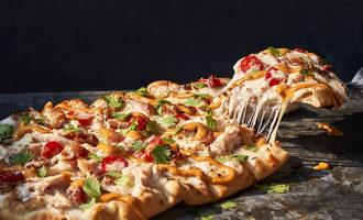 Panera chipotlechickenbaconflatbreadpizza