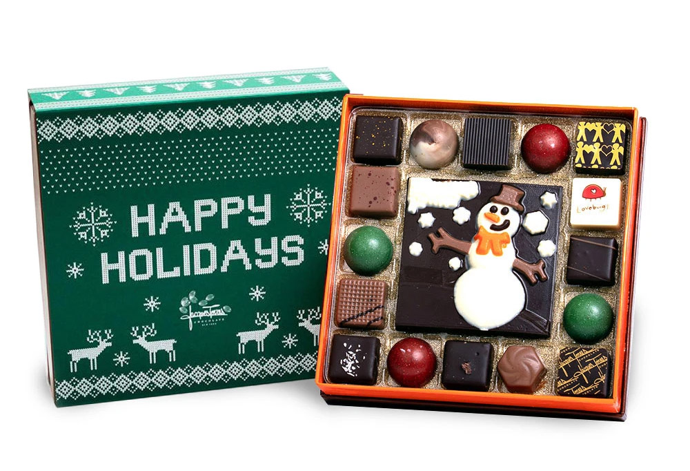 Jacques Torres introduces holiday chocolates