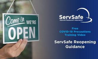 Servsafe reopening