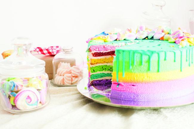 RainbowBirthdayCake