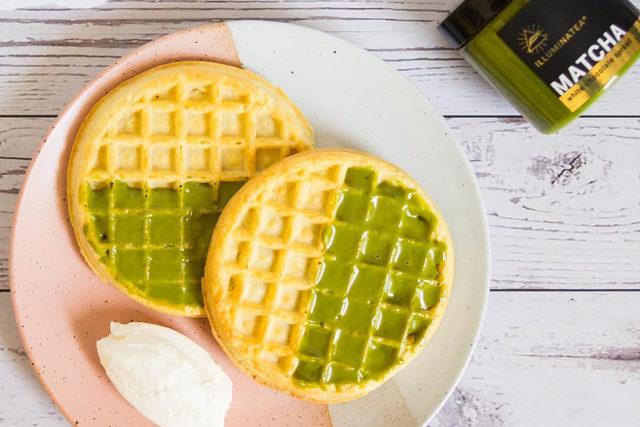 Illuminatea waffles