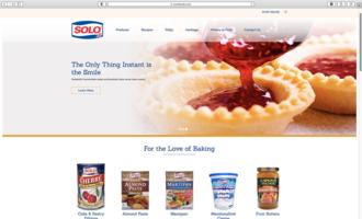 Solofoods website