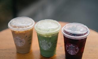 Starbucks strawlesslidsbeverages