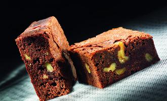 Valrhona brownie
