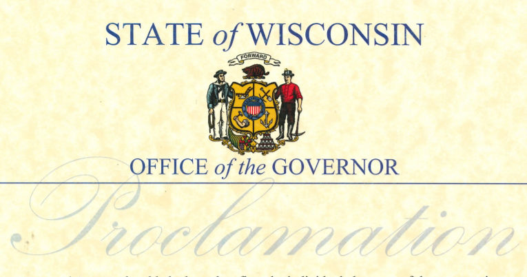 WisconsinBakeryDayProclamation