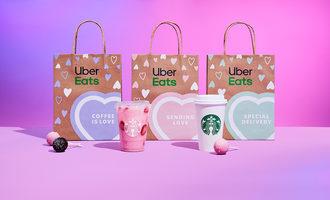 Starbucksdelivers valentinesday