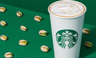 Starbucks pistachiolatte