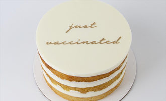 Butter justvaccinated