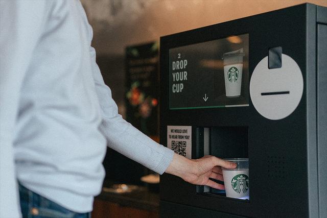 Starbucks borrowacup