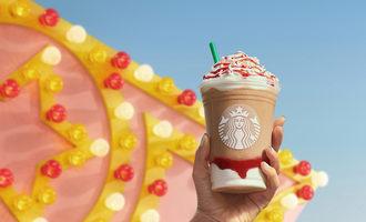 Starbucks strawberryfunnelcakefrappuccino