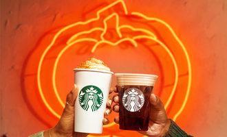 Starbucks pumpkinspiceduo